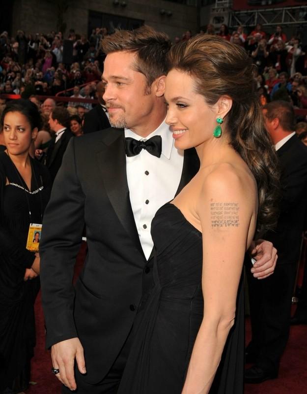 Brad Pitt e Angelina Jolie sul red carpet degli Oscar 2009