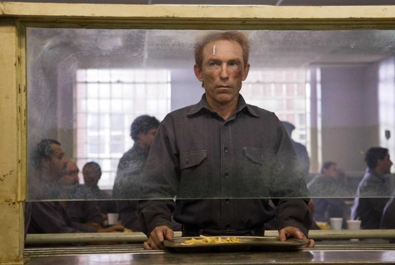 Jackie Earle Haley in una scena di Watchmen