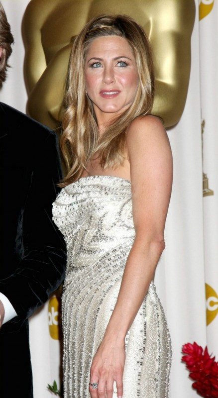 Jennifer Aniston alla Notte degli Oscar 2009