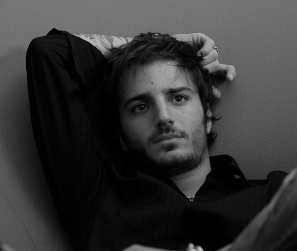 L'attore Nicolas Vaporidis