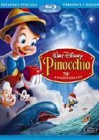 La copertina di Pinocchio - Edizione speciale  70° Anniversario (blu-ray)