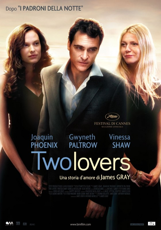 La locandina italiana del film Two Lovers