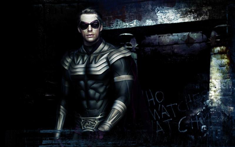 Matthew Goode, alias Ozymandias, in un'immagine promozionale del film Watchmen
