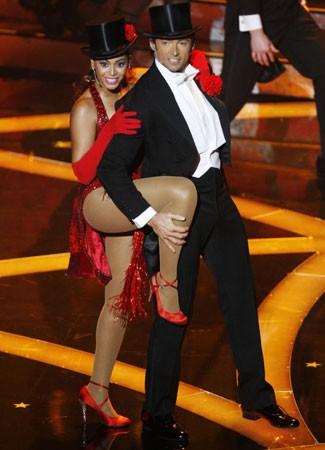 Oscar 2009: Beyoncé e Hugh Jackman