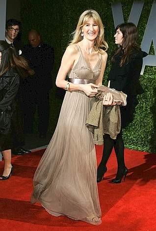 Oscar 2009: Laura Dern all'after party organizzato da Vanity Fair