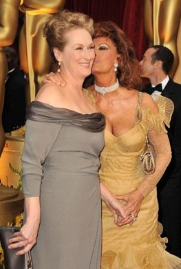 Oscar 2009: Sophia Loren e Meryl Streep