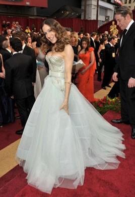 Oscar 2009: una vaporosa Sarah Jessica Parker