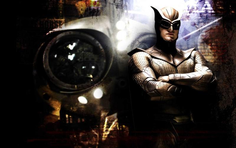 Patrick Wilson, alias Gufo Notturno II, in un'immagine promozionale del film Watchmen