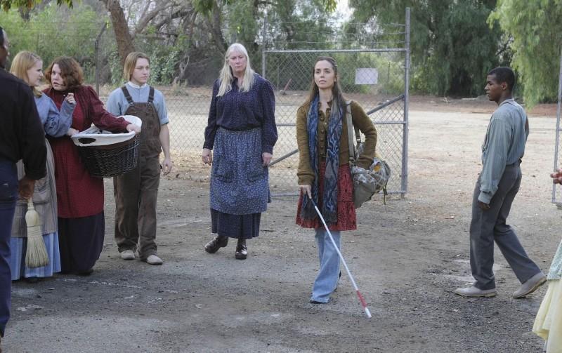 Eliza Dushku in un momento dell'episodio True Believer di Dollhouse