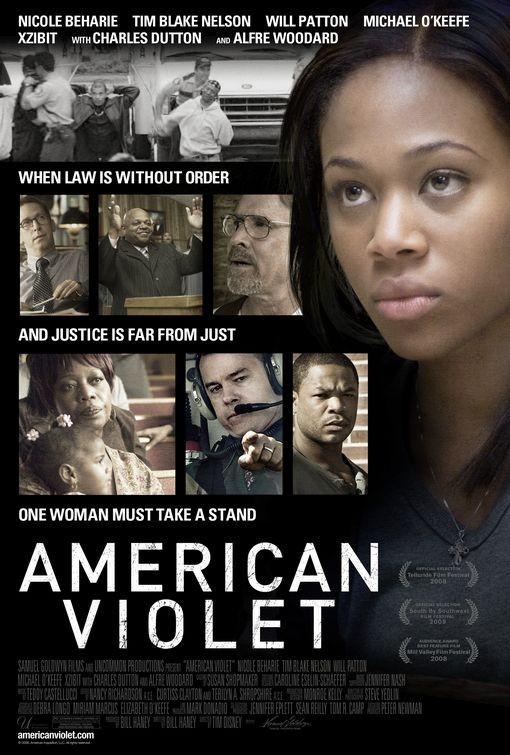 La locandina di American Violet