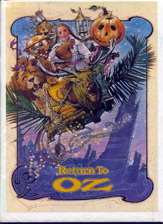 La locandina di Nel fantastico mondo di Oz