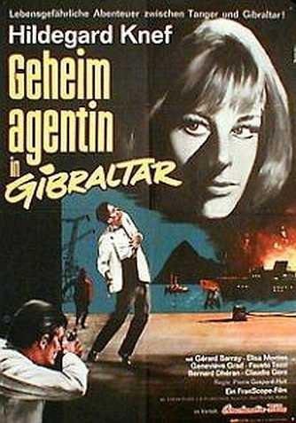 La locandina di Spionaggio a Gibilterra