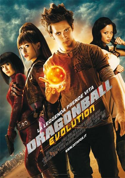La locandina italiana di Dragonball Evolution