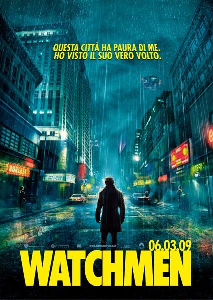 Locandina italiana di Watchmen