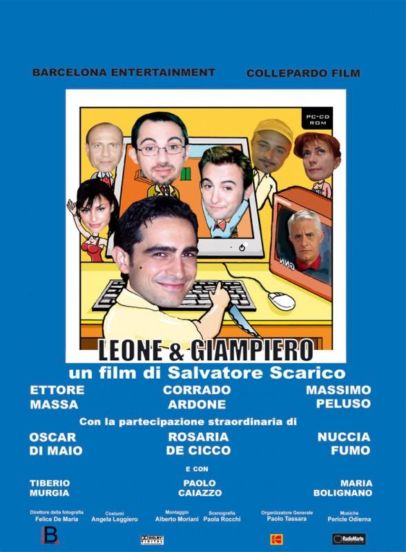 Manifesto del film Leone e Giampiero