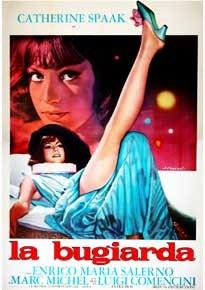 La copertina di La bugiarda (dvd)