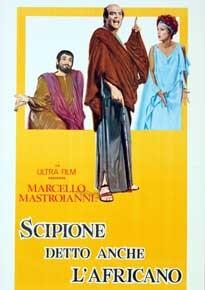 La copertina di Scipione detto anche l' africano (dvd)