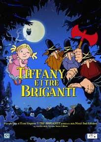 La copertina di Tyffani e i tre briganti (dvd)