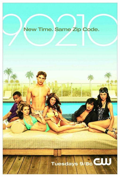 Un poster della serie della CW 90210