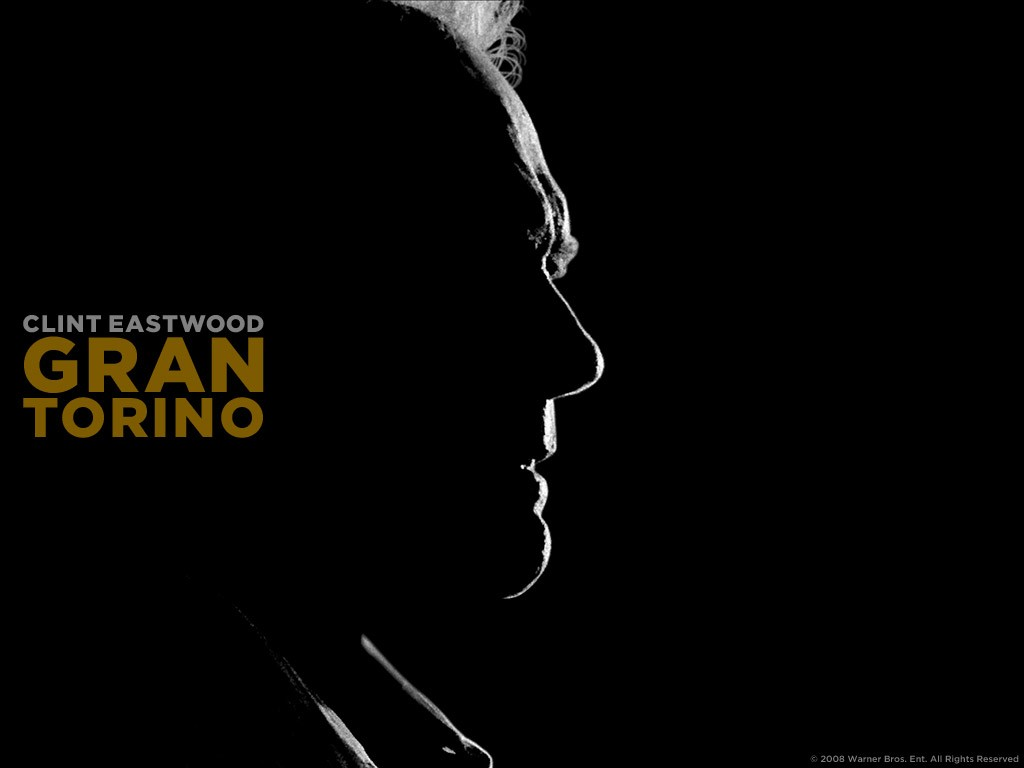 Un wallpaper del film Gran Torino