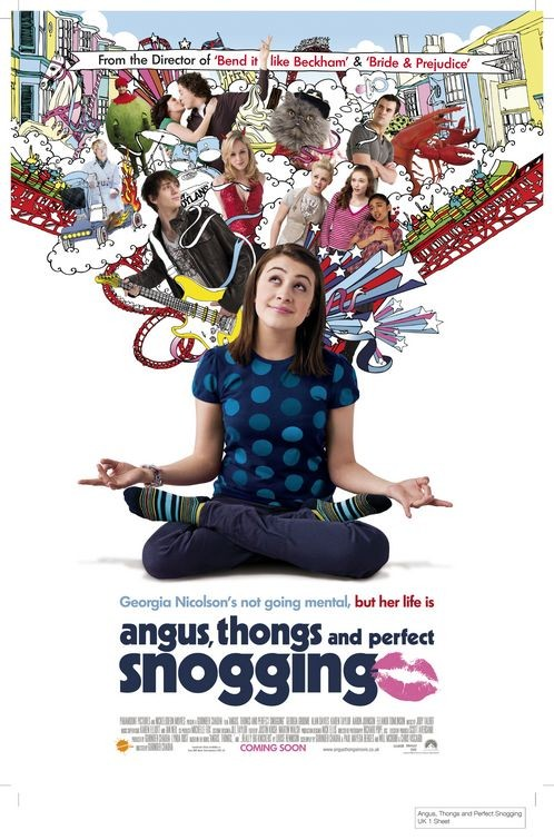 La locandina di Angus, Thongs and Full-Frontal Snogging