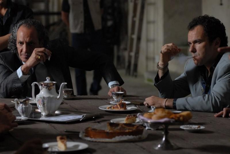 Antonio Buonomo e Massimiliano Gallo in una scena del film Fortapàsc