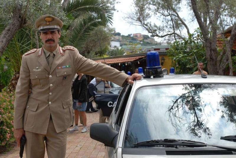 Daniele Pecci in una scena del film Fortapàsc