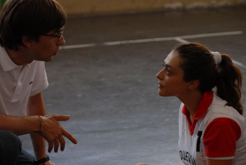 Libero De Rienzo e Valentina Lodovini in un'immagine del film Fortapàsc