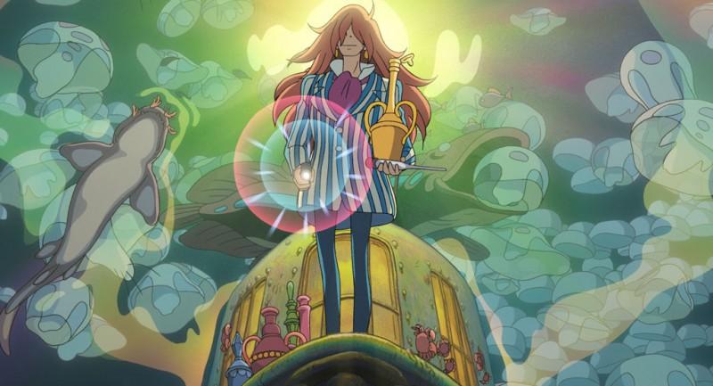 Una scena di Ponyo sulla scogliera, diretto da Hayao Miyazaki