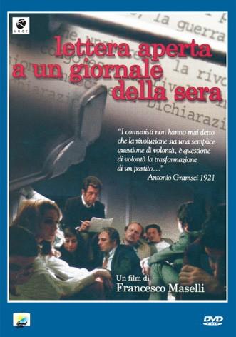 La copertina di Lettera aperta a un giornale della sera (dvd)