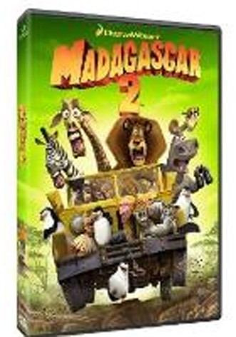 La copertina di Madagascar 2 (dvd)