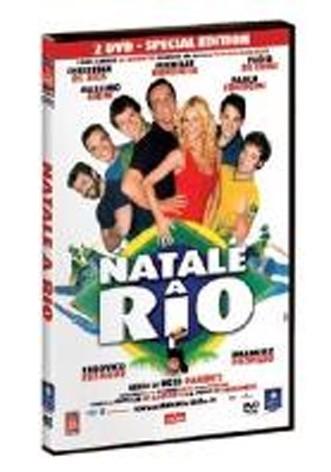 La copertina di Natale a Rio (dvd)