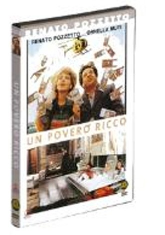 La copertina di Un povero ricco (dvd)
