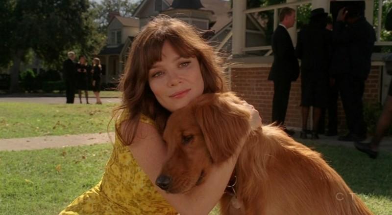 Anna Friel nell'episodio 'Il super cane' della serie tv Pushing Daisies
