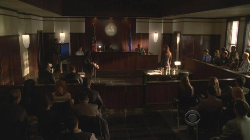 Una scena dell'episodio 'Miscarriage of Justice' della serie tv CSI  - Las Vegas