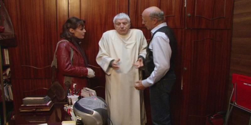 Don Backy in una scena del film Impotenti esistenziali
