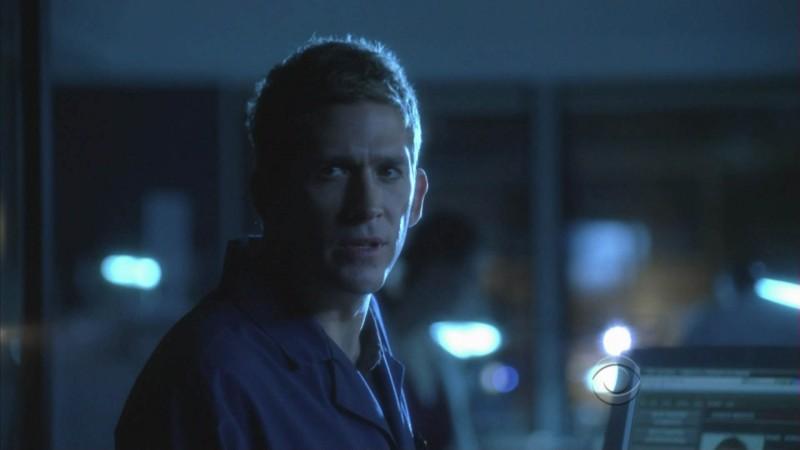 Eric Szmanda in un momento dell'episodio 'Miscarriage of Justice' della serie tv CSI - Las Vegas