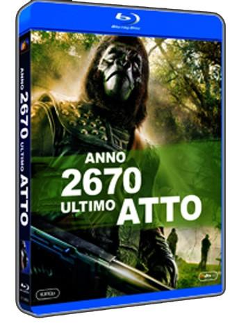 La copertina di Anno 2670 Ultimo atto (blu-ray)
