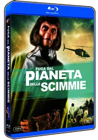 La copertina di Fuga dal pianeta delle scimmie (blu-ray)