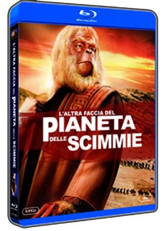 La copertina di L'altra faccia del pianeta delle scimmie (blu-ray)