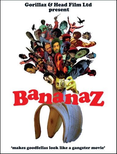 La locandina di Bananaz