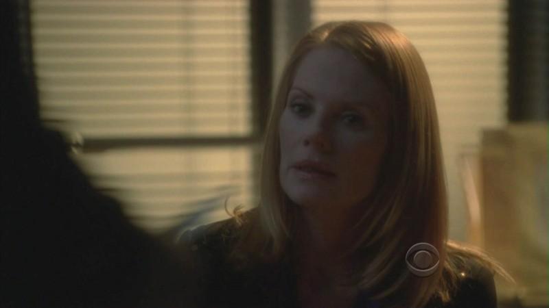 Marg Helgenberger nell'episodio 'Miscarriage of Justice' della serie televisiva CSI Las Vegas