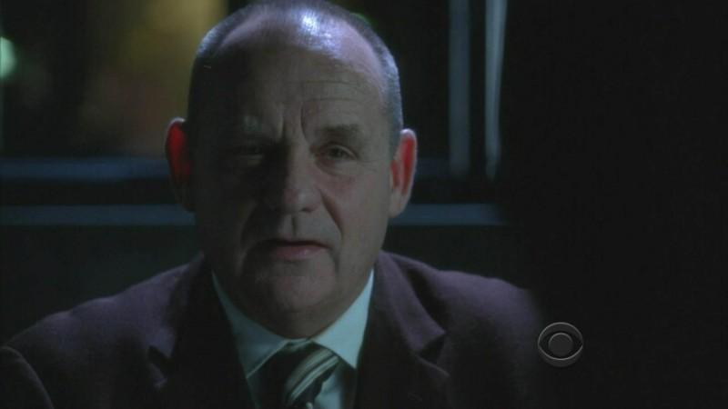 Paul Guilfoyle in un momento dell'episodio 'Kill me if you can' della serie tv CSI - Las Vegas