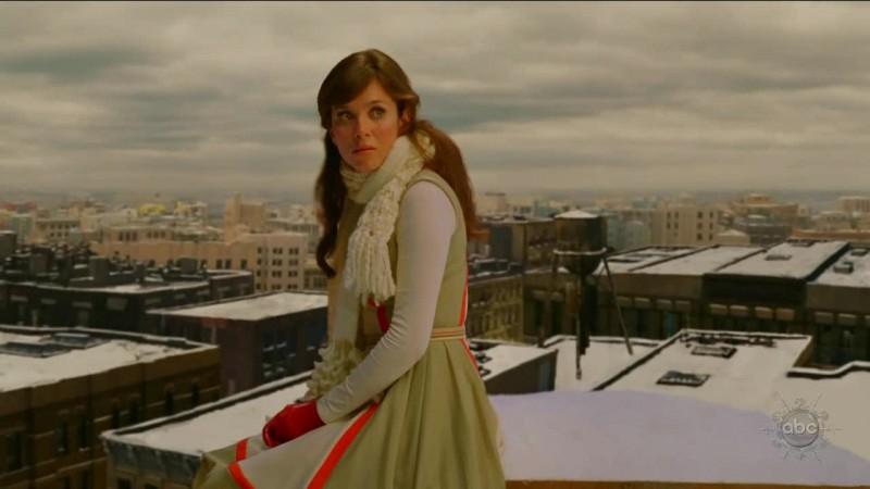 Anna Friel in un momento dell'episodio 'Corpo Surgelato' della serie tv Pushing Daisies