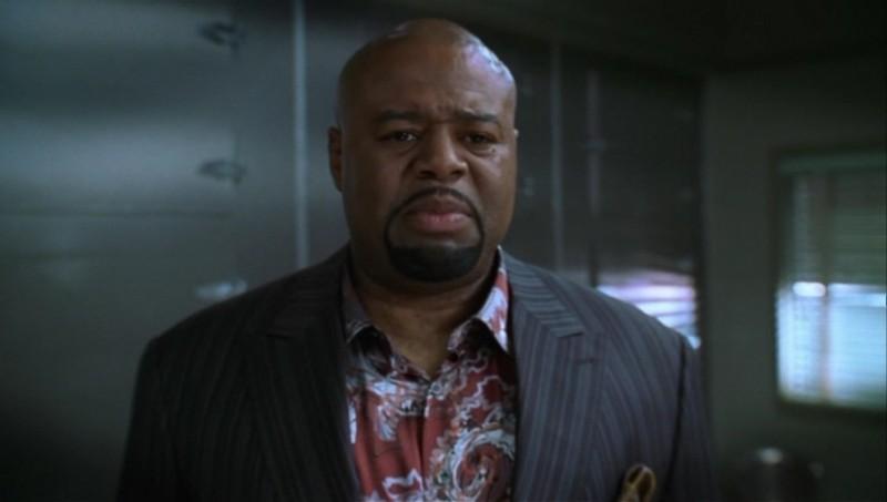 Chi McBride nell'episodio 'Il profumo del successo' della serie tv Pushing Daisies