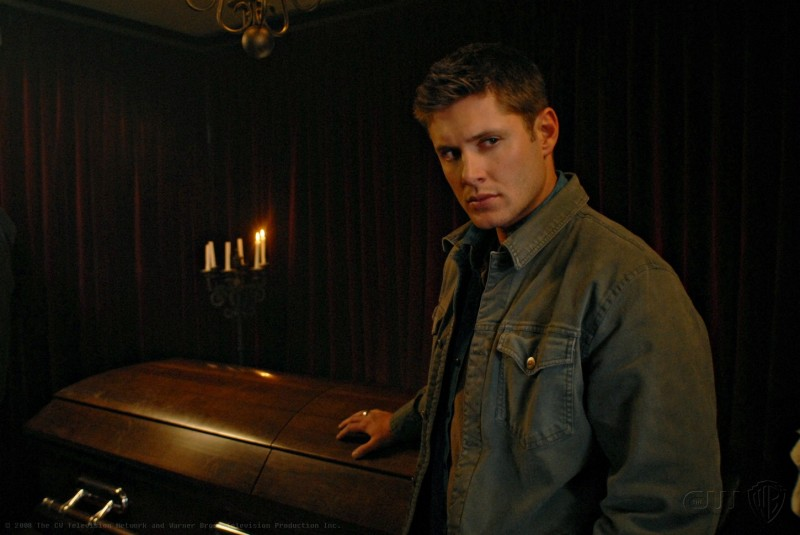 Jensen Ackles nell'episodio Death Takes a Holiday di Supernatural
