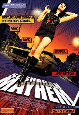 La locandina di Suburban Mayhem