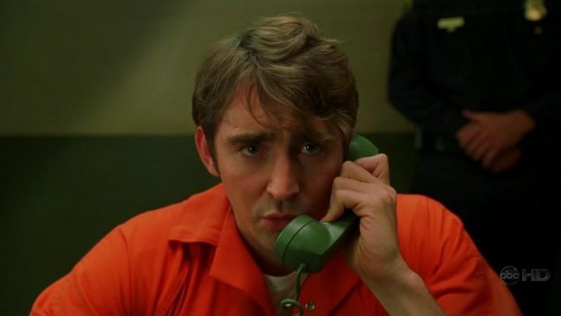 Ned, interpretato da Lee Pace, è stato accusato di omicidio nell'episodio 'Amare Delizie' della prima stagione di Pushing Daisies