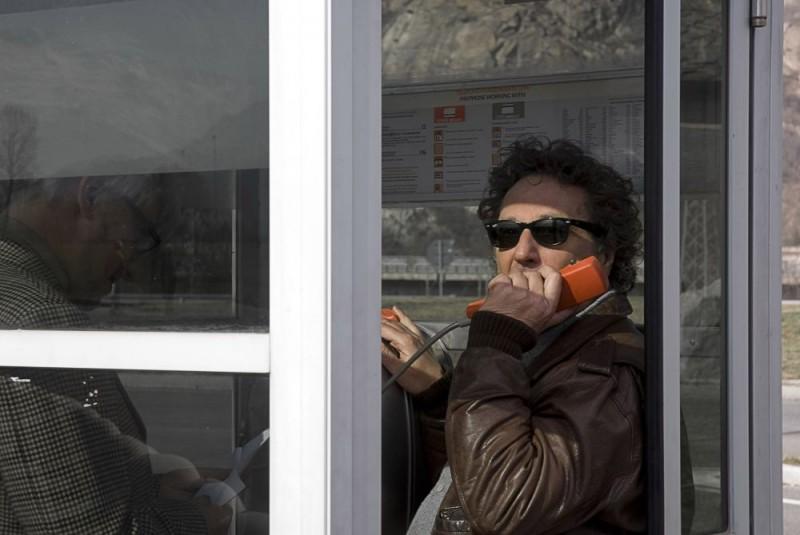 Enzo Iacchetti in un'immagine del film L'ultimo crodino