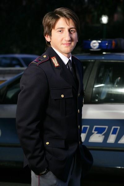 Giovanni Rienzo in una immagine promozionale de La Squadra